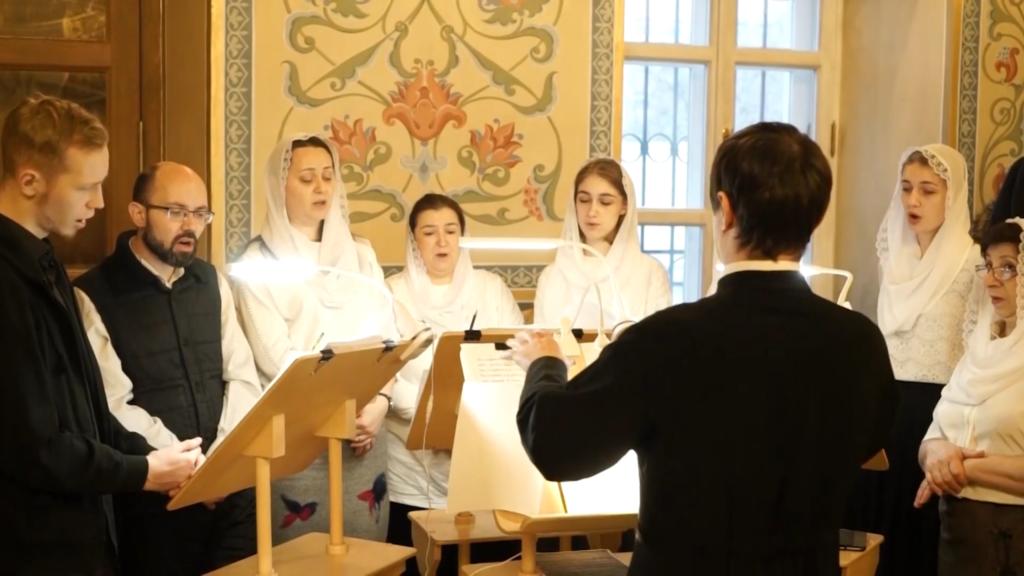 Фрагменты богослужения на праздник Крещения Господня