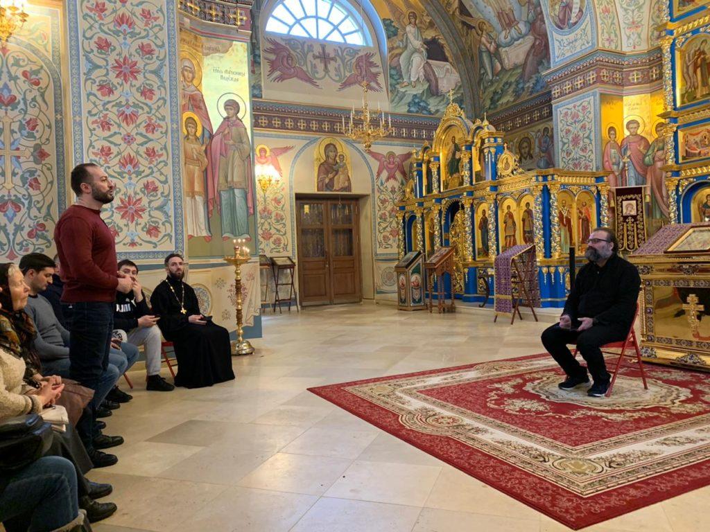 Миссионерская встреча с журналистом С.Л.Худиевым