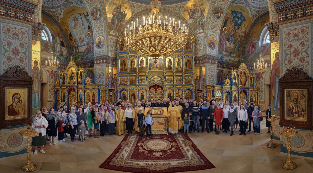 Божественная литургия в День памяти святого благоверного князя Вячеслава Чешского